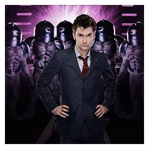 Doctor Who. Размер: 30 х 30 см